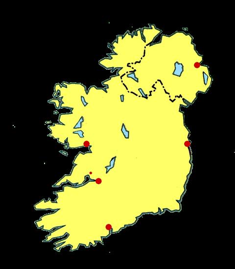 burren irlande carte